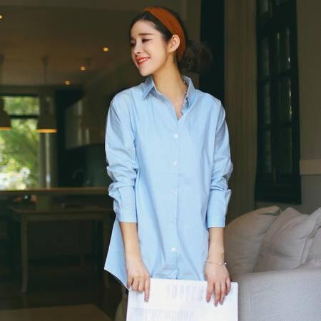 mssefn(大货)(红模实拍)2015秋季新款女士韩版衬衣8309A-C672-P50