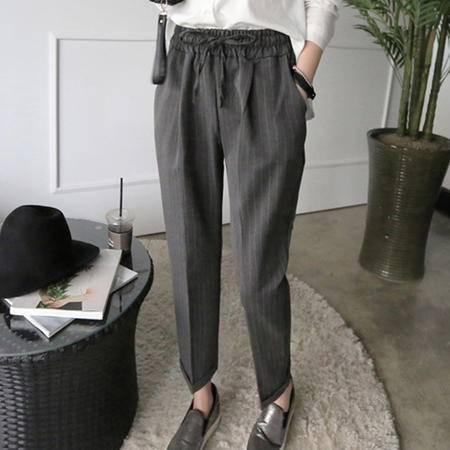 mssefn(大货)2015秋季新款女士韩版潮流休闲裤哈伦裤8309A-K01