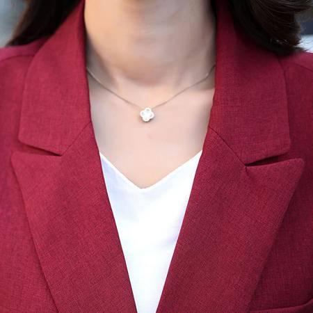 mssefn2015秋季女款韩版休闲百搭双排扣长款西装无袖坎肩马甲YMN992795