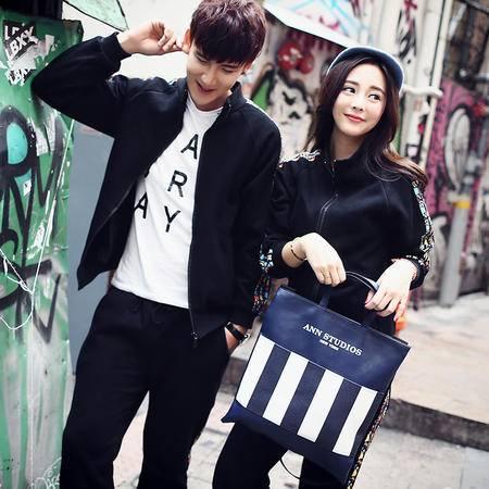 mssefn2015秋装新款韩版情侣装 情侣卫衣外套 A51-P65 K21