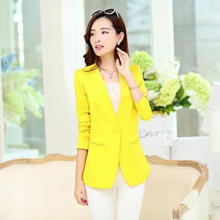 mssefn2015秋季新款韩版女装时尚修身女士小西装外套秋装上衣YS803
