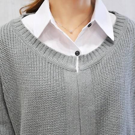 mssefn开衫女2015秋季新款韩版毛衣