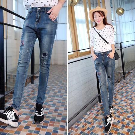 mssefn2015时尚新款秋季女装 韩版女士秋装牛仔裤长裤YS1265