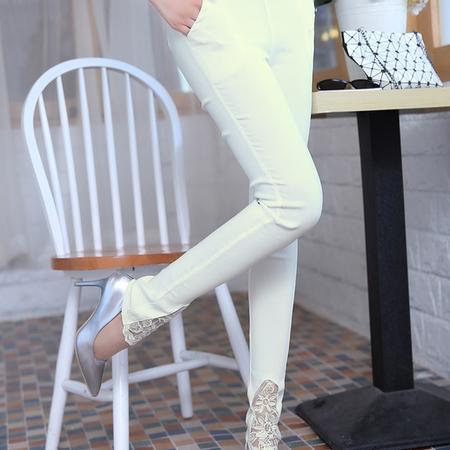 mssefn2015时尚新款秋季女装 韩版女士秋装长裤休闲裤YS1221