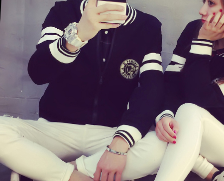 mssefn2015秋装新款情侣卫衣 韩版棒球服开衫外套 潮 Y185女装类目