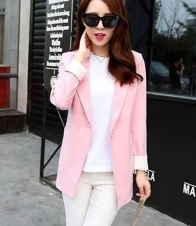 Mssefn 2015秋女装新款西装外套