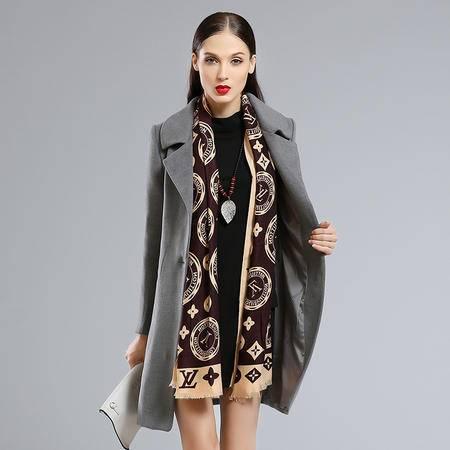 Mssefn2015冬季时尚新款韩版女装冬装新品毛呢外套YS8582配腰带