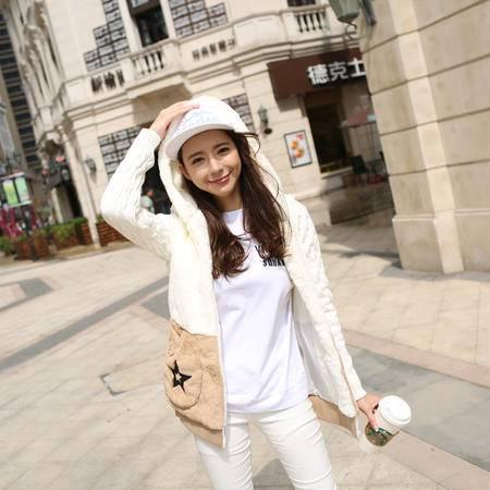 Mssefn2015冬季韩版可爱兔毛绒加厚卫衣8309-8901