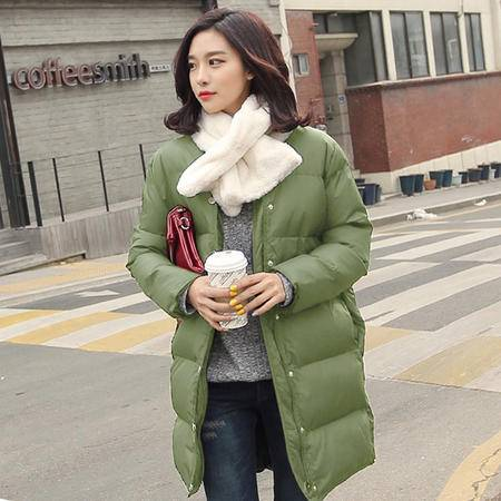 mssefn2015韩款时尚女装冬季新款羽绒棉棉服