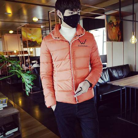 mssefn2015棉衣潮冬装新款韩版修身型男装大码加厚棉袄青年外套