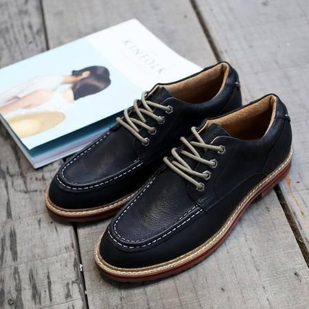 MSSEFN2015暖冬擦色复古做旧低帮男鞋车缝线119-A20