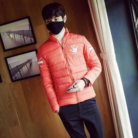 mssefn2015棉衣男潮冬装新款韩版修身型男装大码加厚棉袄青年外套