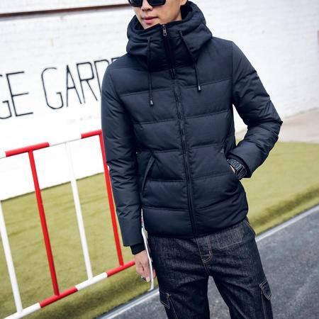 mssefn2015冬季新款 羽绒服男 青年短款羽绒服外套大码加厚情侣装