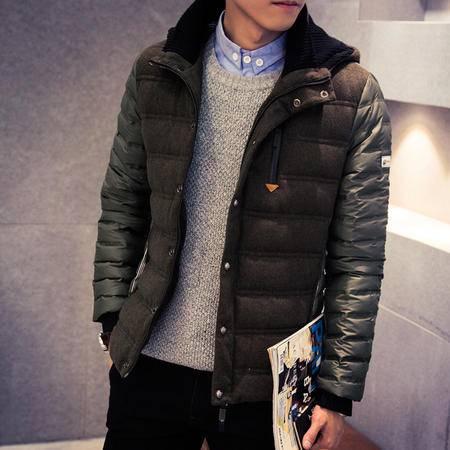 MSSEFN2015冬羽绒服显瘦韩版休闲时尚外套连帽