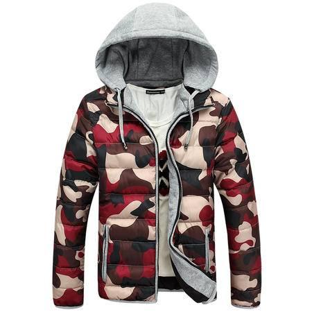 mssefn2015新款男式棉衣迷彩棉衣潮流时尚冬装花棉衣