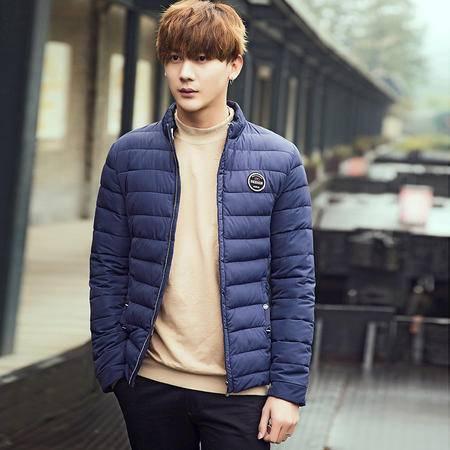 MSSEFN2015冬装青年修身棉服韩版男学生冬季棉衣外套男装大码棉袄