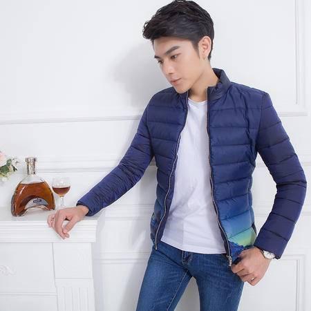 MSSEFN2015秋冬装加厚外套韩版加厚棉衣男士修身立领棉袄B405Y10