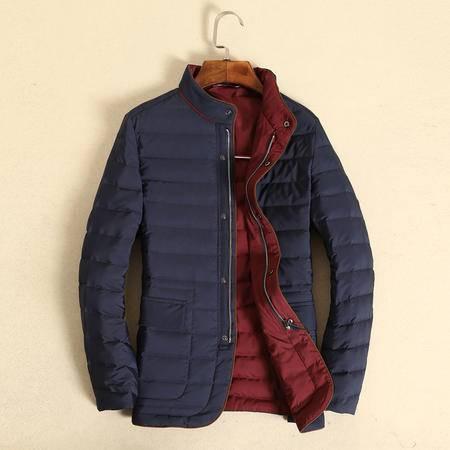mssefn2015 秋冬新款男士修身棉衣加厚保暖休闲潮男羽绒服