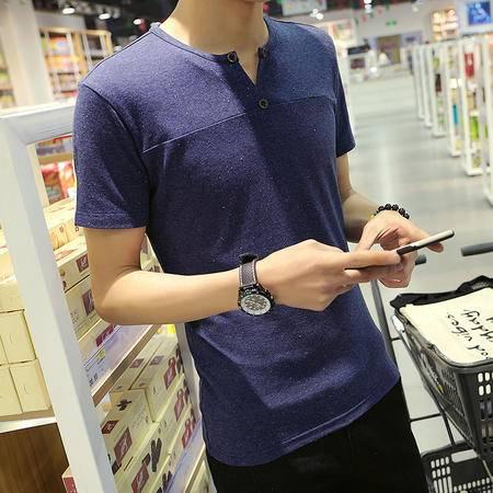 Mssefn2016春夏精品韩版潮男圆领短袖T恤A106-T619
