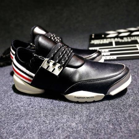 MSSEFN时尚减震增高男鞋潮流运动鞋休闲鞋子新款