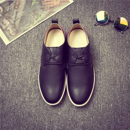 MSSEFN新款春季运动休闲商务休闲男鞋男士板鞋皮鞋