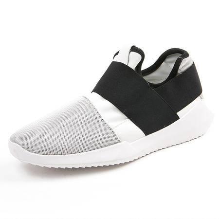 MSSEFN夏季新款韩国东大门时尚运动鞋透气布鞋男士板鞋潮男鞋