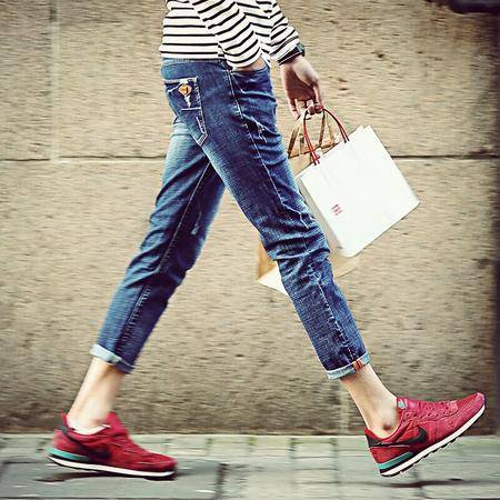 MSSEFN夏新款潮 九分裤 男装青 少年学生小脚9分裤子男士牛仔裤