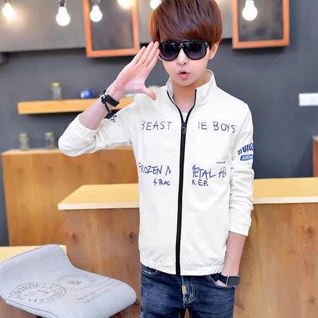 MSSEFN小模特夹克青年春季大码薄款上衣服韩版修身型潮男装外套