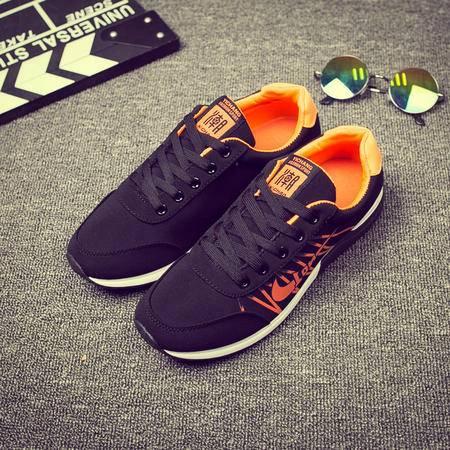 MSSEFN春夏新款男鞋运动鞋布鞋休闲鞋系带鞋跑步鞋