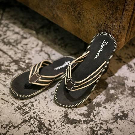 MSSEFN新款男士凉鞋真皮男凉鞋沙滩鞋拖鞋男透气休闲皮凉鞋