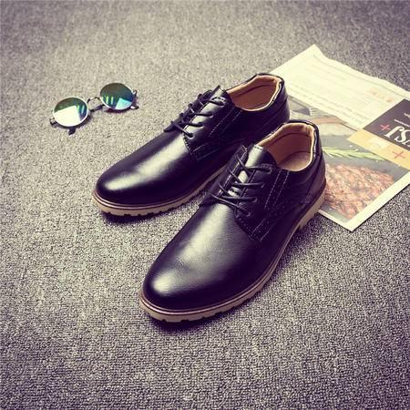 MSSEFN男士新款商务时尚皮鞋运动休闲男鞋