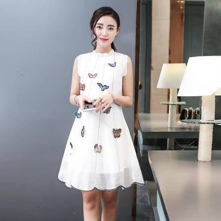MSSEFN夏装短袖时尚潮流女装新款连衣裙