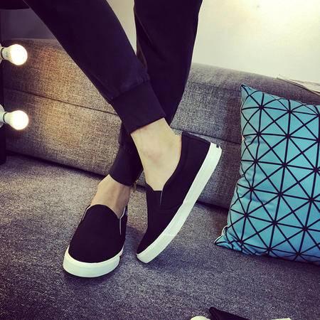 MSSEFN春季新款男士韩版休闲帆布鞋时尚男鞋