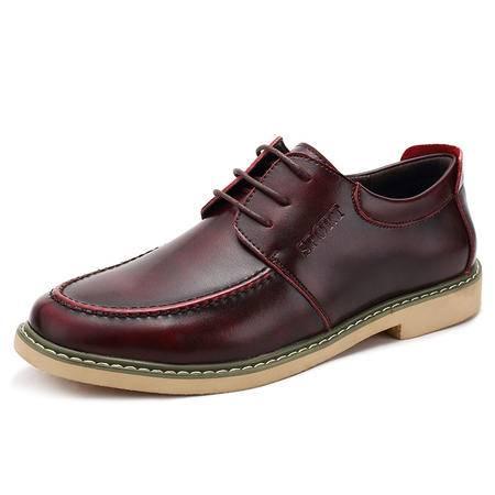 MSSEFN天猫京东白底图专柜品质热卖男夜店业务员专用皮鞋