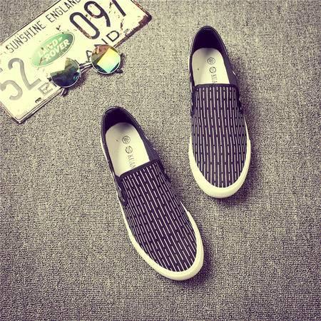 MSSEFN春季新款男鞋休闲鞋透气鞋帆布鞋潮鞋学生鞋1368/X115