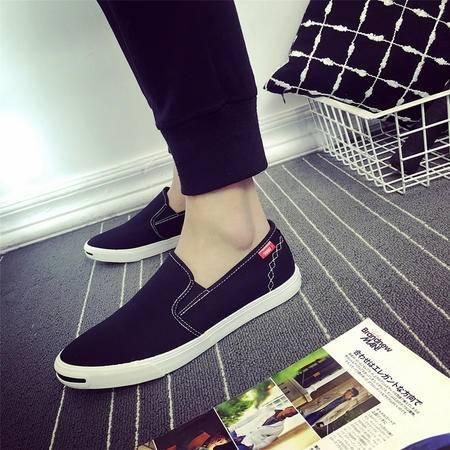 MSSEFN春季新款男士帆布鞋韩版休闲运动男鞋硫化鞋