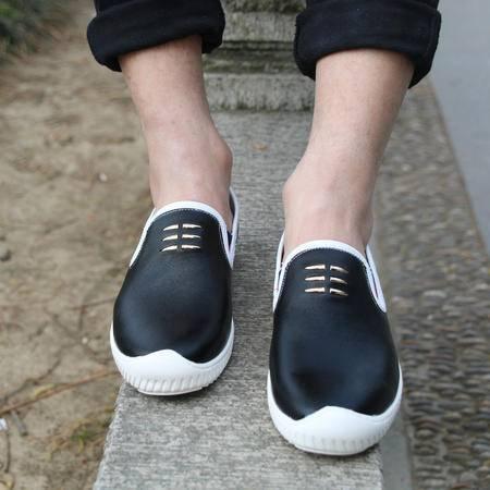 MSSEFN钱塘新款春秋男士休闲懒驾车鞋套脚运动豆豆鞋潮鞋
