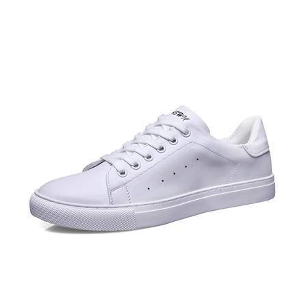 MSSEFN钱塘小白鞋男士板鞋乐福鞋休闲皮鞋韩版学生鞋