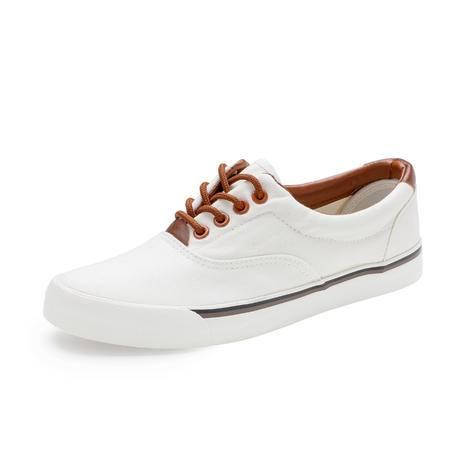 MSSEFN韩国东大门滑板鞋单鞋男鞋帆布鞋休闲鞋系带鞋透气夏乐福鞋