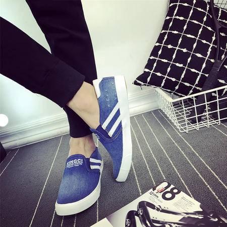 MSSEFN春季新款韩版男士休闲帆布鞋时尚男鞋