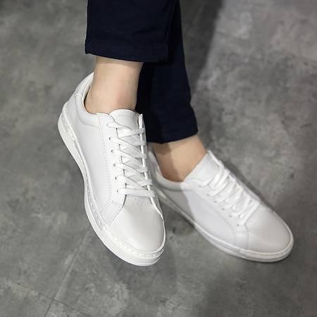 MSSEFN夏季爆款男士板鞋运动鞋小白鞋韩版休闲鞋系带男鞋潮