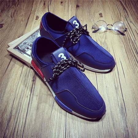 MSSEFN春夏新款NMD男运动鞋增高透气网面跑步鞋旅游鞋
