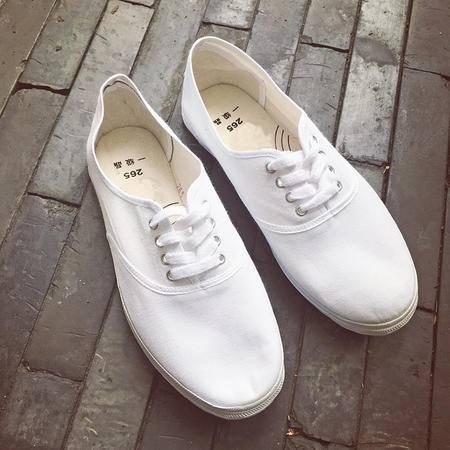 MSSEFN新款港仔文艺男生帆布鞋简约干净复古球鞋男