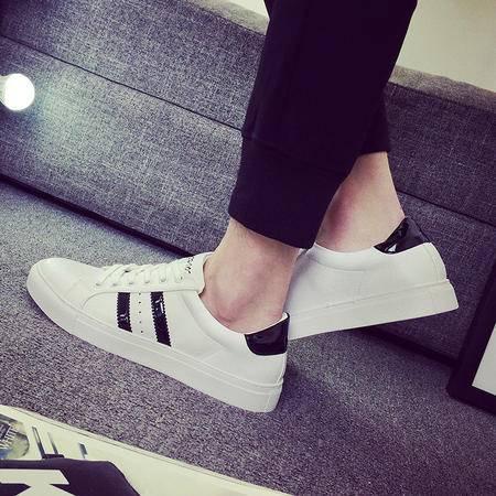 MSSEFN夏款透气百搭白色运动鞋休闲板鞋男鞋子潮鞋小白鞋男