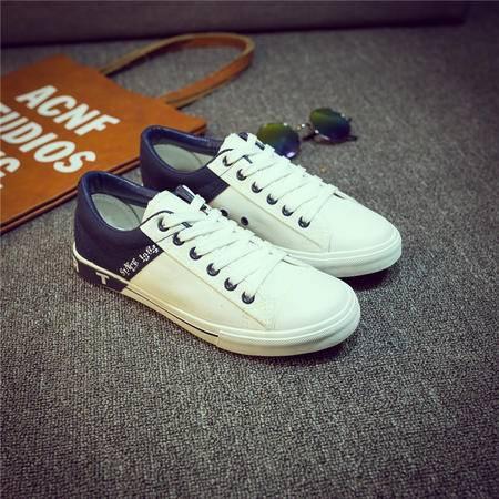 MSSEFN夏季新款男士潮流帆布鞋男鞋子布鞋运动鞋日系学生鞋