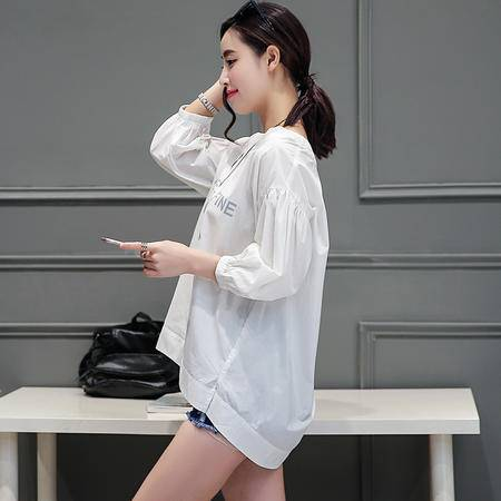 MSSEFN2016夏季新款女装韩版显瘦时尚衬衣