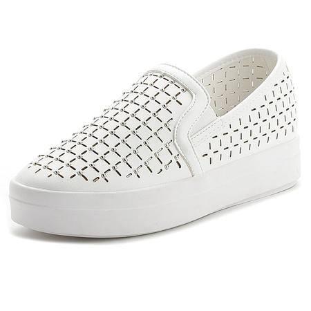 MSSEFN 内增高1cm 柳丁 镂空  透气 女单鞋