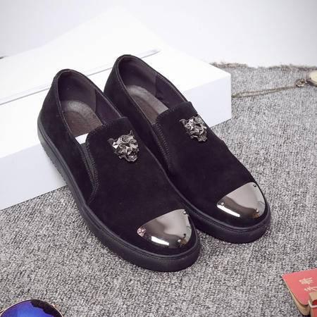 MSSEFN爆款潮流韩版磨砂皮低帮休闲鞋