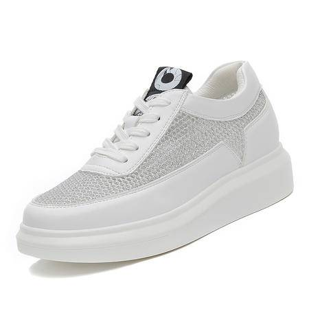 mssefn2016 专柜正品  厚底网布女鞋