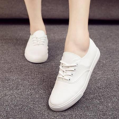mssefn2016  四季清新百搭简约时尚女士小白鞋